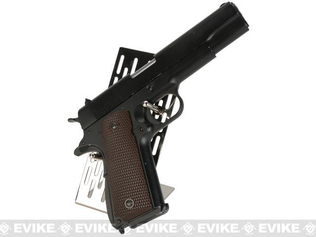Guarder Stainless Steel Modular Handgun Stand - Silver