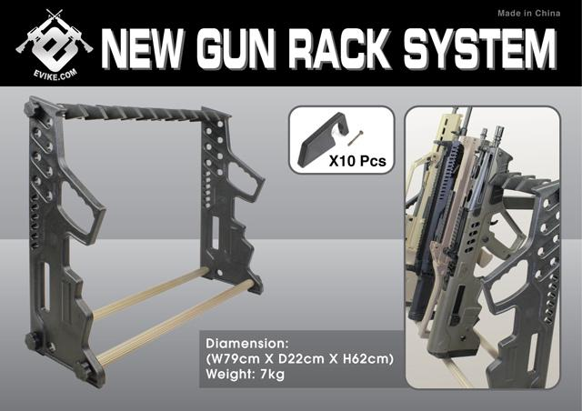 Professional Personal / Team Portable Rifle Gun Rack by Evike.com