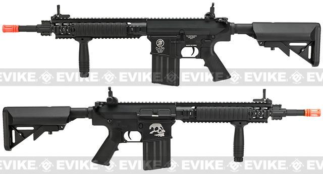 Pre-Order ETA March 2017 A&K Full Metal SR-25K Airsoft AEG Rifle w/ Crane Stock - Zombie Killer