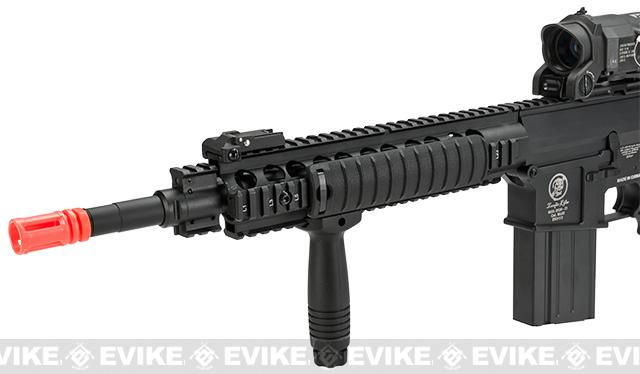 A&K Full Metal SR-25K Airsoft AEG Rifle w/ Crane Stock - Zombie Killer