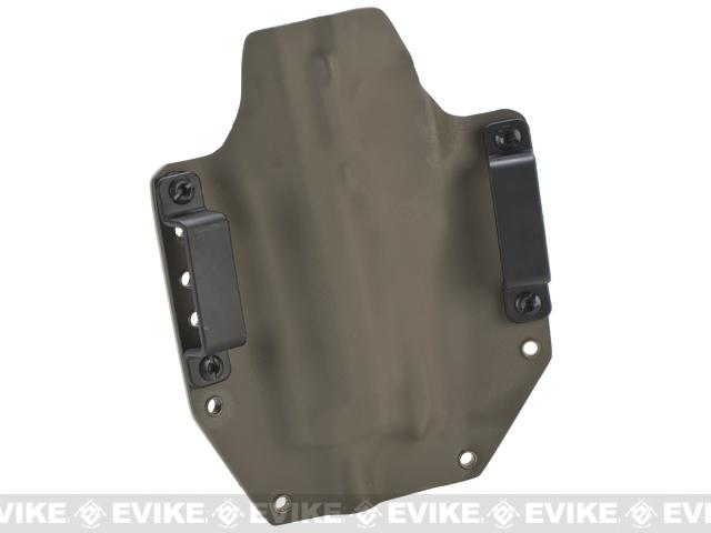 KAOS Concealment Kydex Belt / MOLLE Holster - KWA M93R (Right / A-TACS)