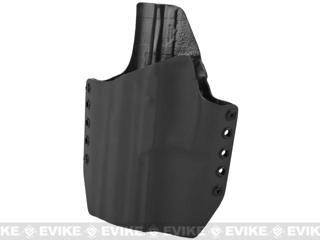 KAOS Concealment Kydex Belt / MOLLE Holster - KWA USP Mk23 (Left / Black)