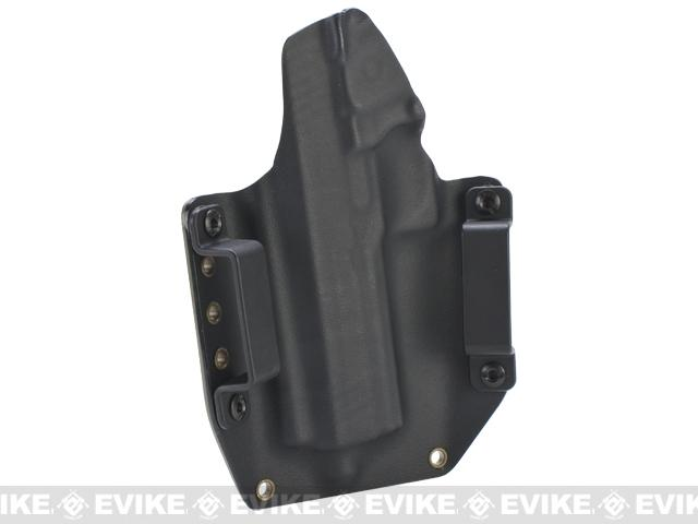 KAOS Concealment Kydex Belt / MOLLE Holster - WE 4.3 Hi-CAPA (Right / Dark Earth)