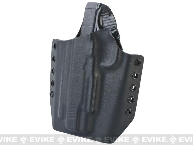 KAOS Concealment Kydex Belt / MOLLE Holster - WE TM KWA 1911 (Left / Black)