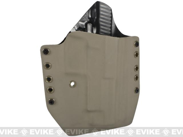 KAOS Concealment Kydex Belt / MOLLE Holster - KWA P226 (Right / Dark Earth)