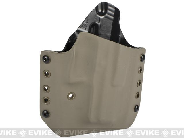 KAOS Concealment Kydex Belt / MOLLE Holster - KWA USP Compact (Right / Dark Earth)