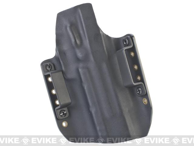 z KAOS Concealment Kydex Belt / MOLLE Holster - KWA USP Match (Left / Dark Earth)