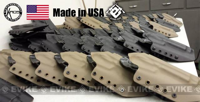 KAOS Concealment Kydex Belt / MOLLE Holster - KWA USP Mk23 (Right / Black)