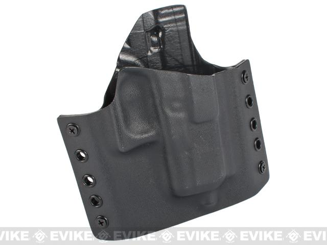 KAOS Concealment Belt / MOLLE Kydex Holster - WE26 Series (Right / Black)