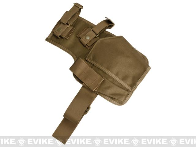 z Matrix SMG Thigh / Belt Holster - Coyote Brown