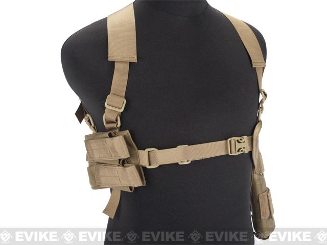 Matrix All In One Handgun Shoulder Holster - Coyote Brown