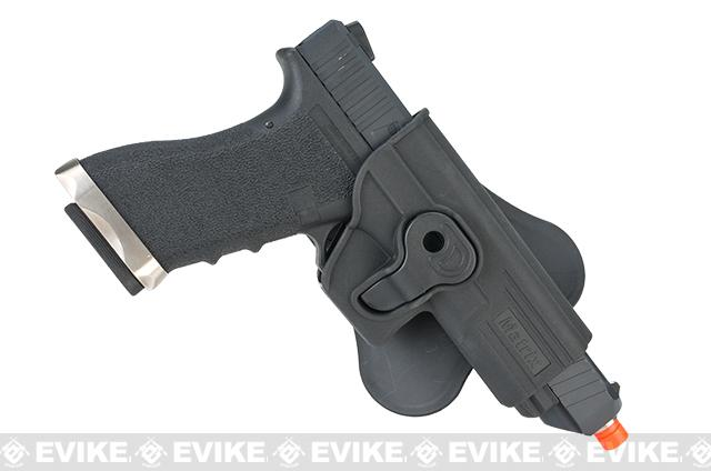 Matrix Hardshell Adjustable Holster for Glock ATP ACP Airsoft Pistols (Mount: Belt Attachment)