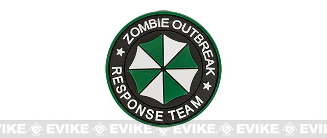 Zombie Outbreak Response Team 60mm PVC Jook and Loop Patch