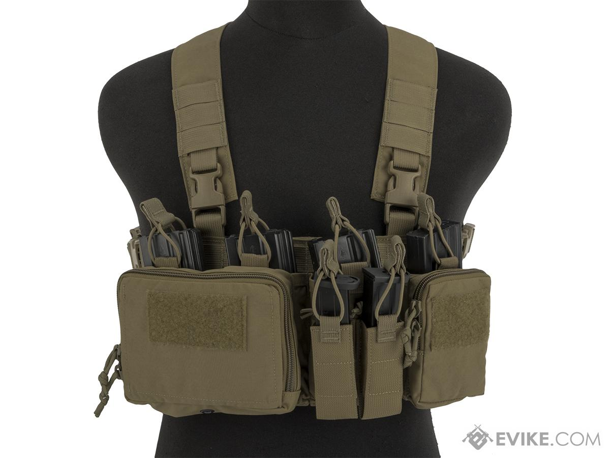 Haley Strategic HSP Disruptive Environments Chest Rig D3CR Heavy (Color: Coyote)