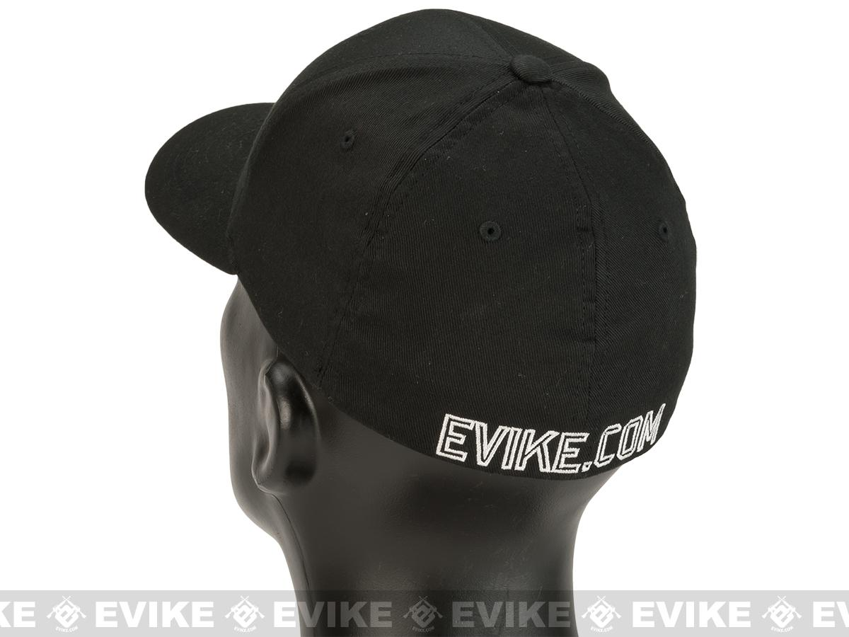 Evike.com Born to Pew FlexFit Fitted Hat - Black (Size: Small/Medium)