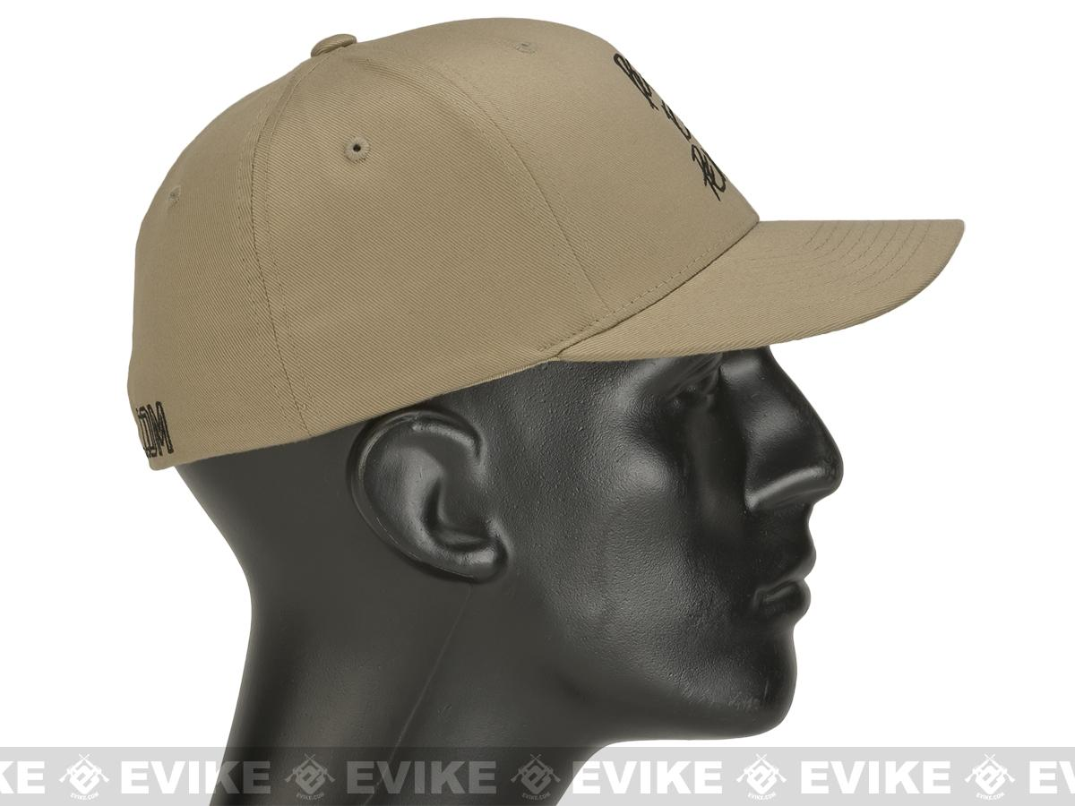 Evike.com Born to Pew FlexFit Fitted Hat - Tan (Size: Large/X-Large)