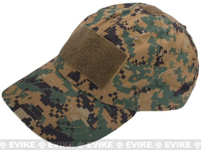 Emerson Tactical Patch Ready Baseball Cap with Velcro Panels - (Digital Marpat)