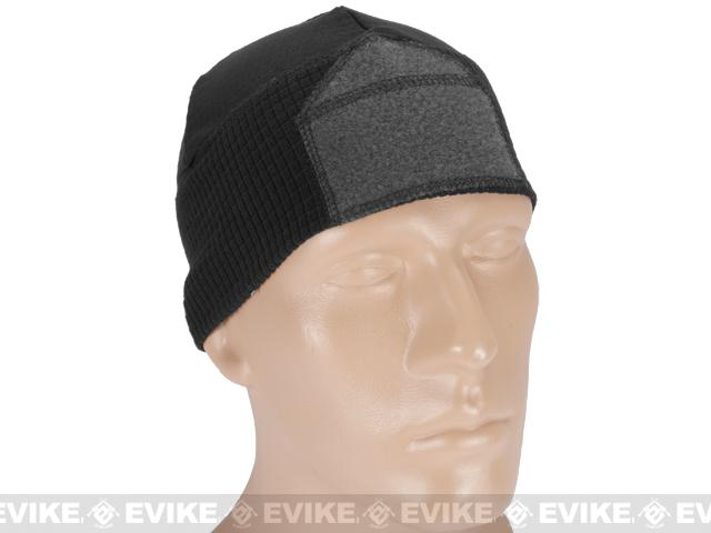 Emerson Velcro Ready Tactical Corn Fleece Watch Cap - Black