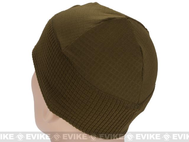 Emerson Hook and Loop Patch Ready Tactical Corn Fleece Watch Cap - Coyote