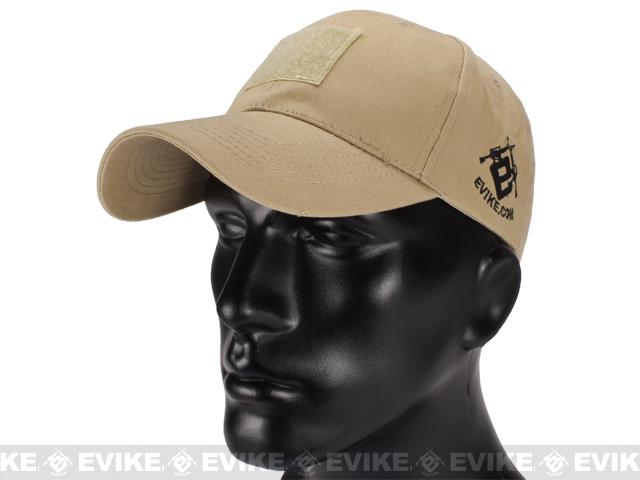 z Evike.com Mil-Spec Patch Ready Tactical Ball Cap - Tan
