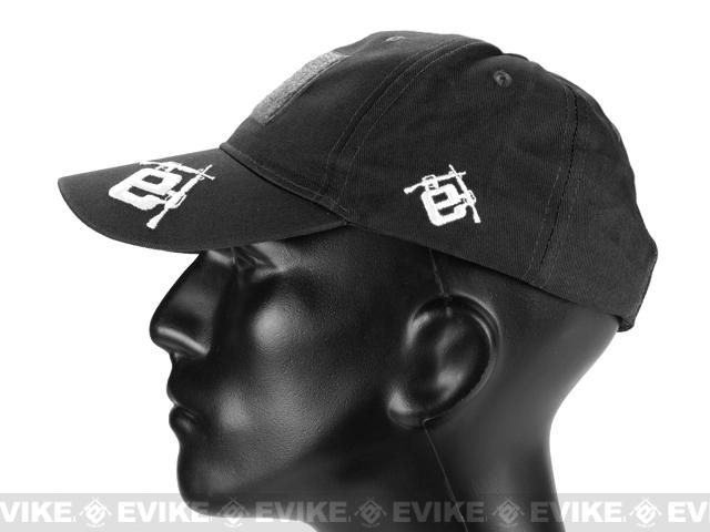 Evike.com Mil-Spec Patch Ready Tactical Ball Cap (Color: Black / Type 2)