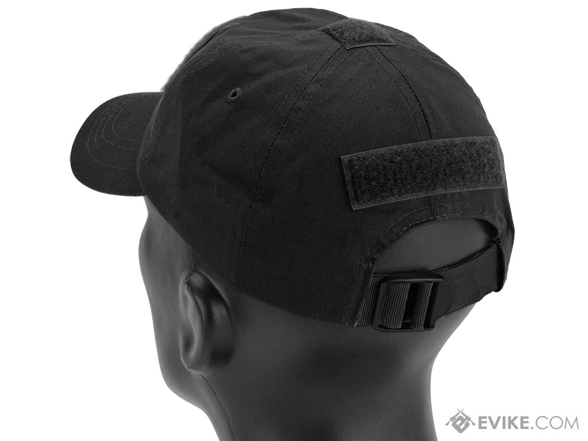Evike.com Patch Ready Operator Tactical Ball Cap (Color: Black)