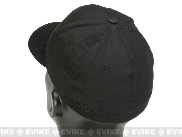 SureFire® Flexfit® Tonal Cap - Black (Small/Medium)