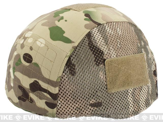z Matrix Helmet Cover for MICH 2002 Airsoft Helmet - Land Camo