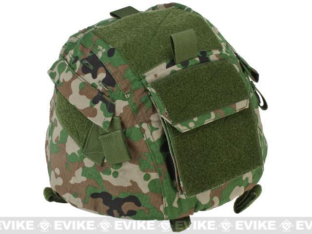 Matrix Helmet Cover for MICH 2000 Airsoft Helmet - JGSDF Camo