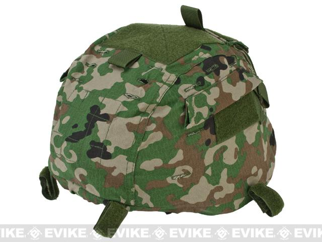 Matrix Helmet Cover for MICH 2000 Airsoft Helmet - JGSDF Camo