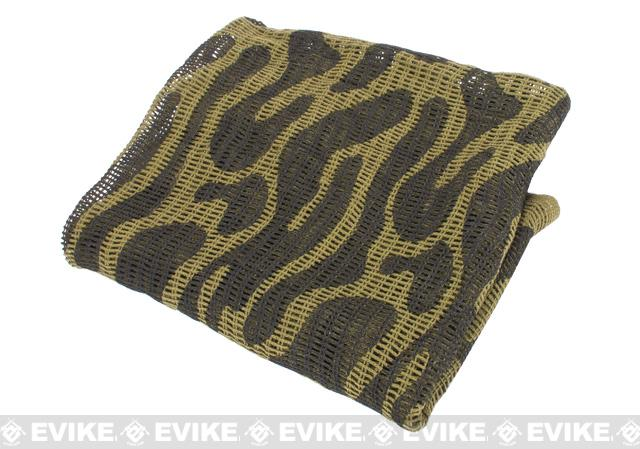 Military Grade 100% Cotton Sniper Veil Head Wrap - Camo