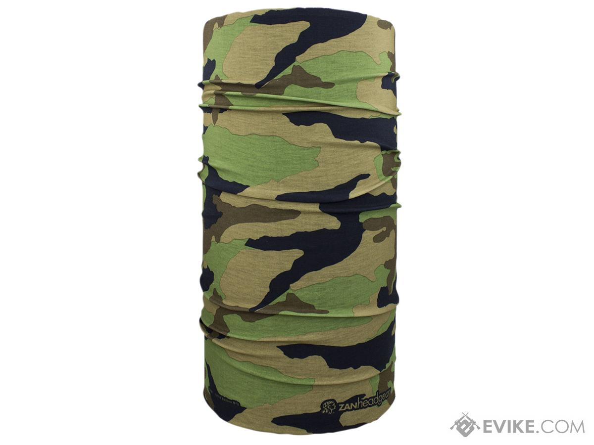 Bobster / Zan Headgear Tactical Military Motley Tube-Woodland Camo