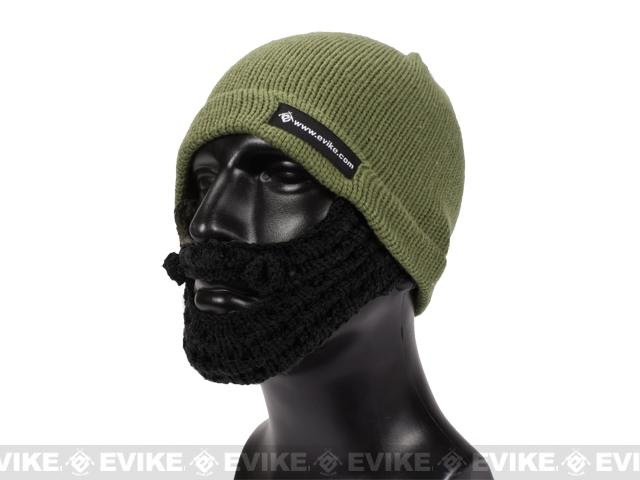 Evike.com Tactical Beard Beanie - Dark Earth / Black