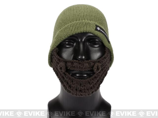 Evike.com Tactical Beard Beanie - Dark Earth / Brown