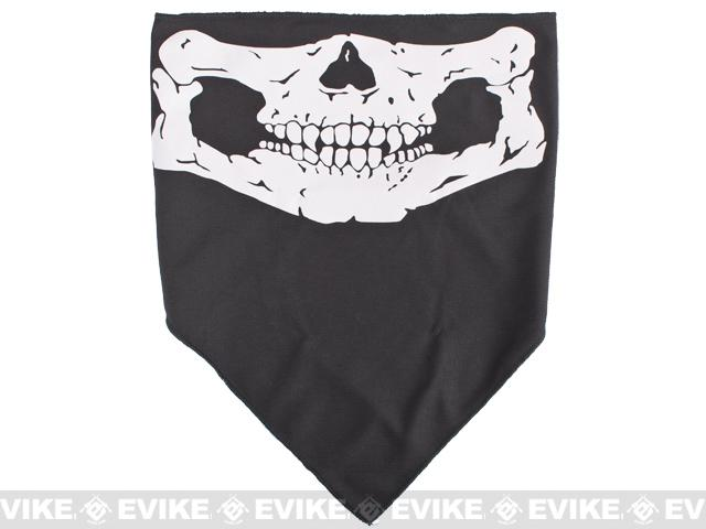 Evike.com Multi Purpose Head Wrap - Skull / Triangle