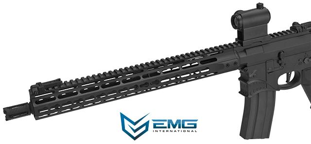 EMG Hellbreaker Licensed Full Metal Advanced M4 Airsoft AEG Rifle (Color: Black / 15 Carbine)