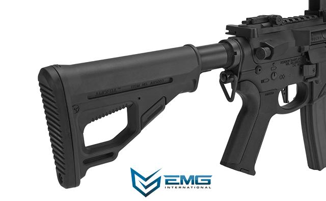 EMG Hellbreaker Licensed Full Metal Advanced M4 15 Carbine Airsoft AEG Rifle (Color: Black)