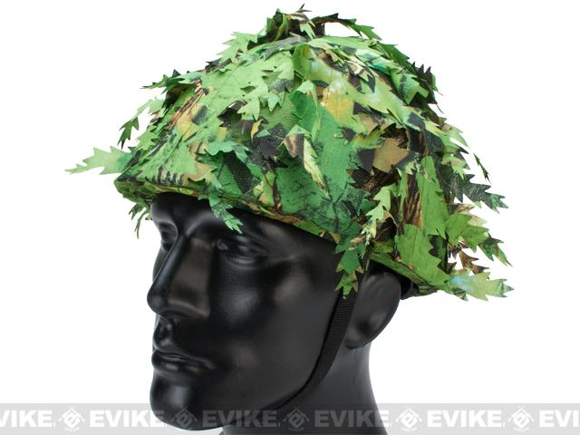z Avengers Lightweight Airsoft Helmet - Summer Leaves Camo
