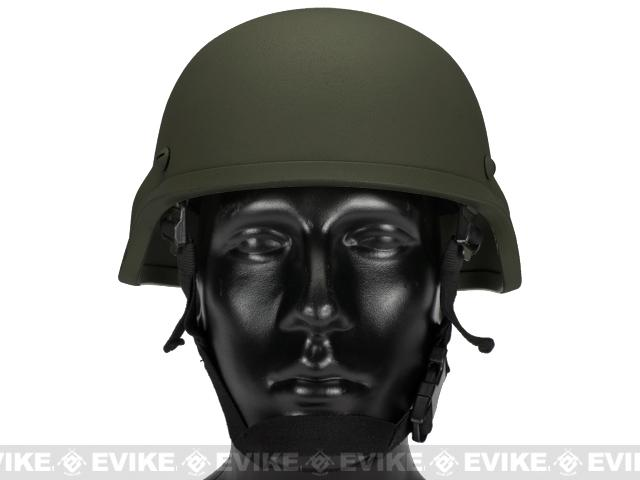 Matrix Tactical Systems MICH 2000 Style Replica Kevlar Helmet (OD Green)