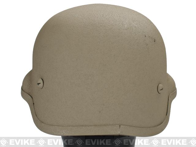 MICH 2002 Fiberglass Replica Kevlar Helmet by Lancer Tactical / Matrix - Desert