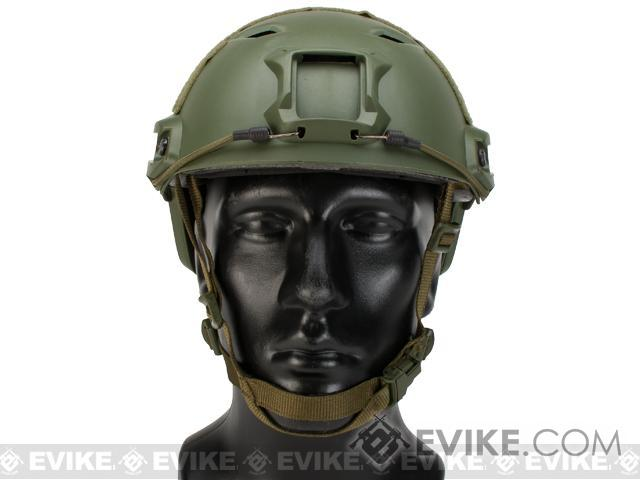 Emerson Bump Type Tactical Airsoft Helmet (BJ Type / Advanced / OD Green)