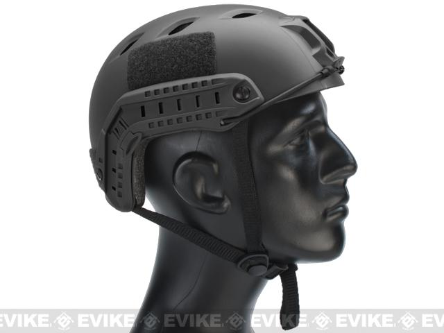 Emerson Bump Type Tactical Airsoft Helmet (BJ Type / Basic / Black)