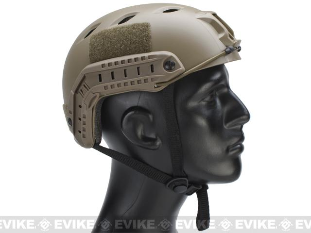 Emerson Bump Type Tactical Airsoft Helmet (BJ Type / Basic / Dark Earth)