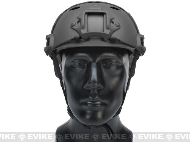 Emerson Bump Type Tactical Airsoft Helmet (PJ Type / Basic / Black)