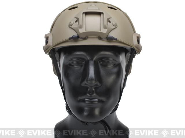 Emerson Bump Type Tactical Airsoft Helmet (PJ Type / Basic / Dark Earth)