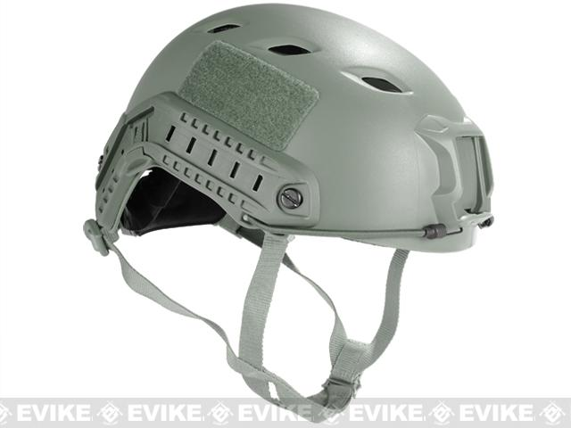 Emerson FAST Type Tactical Airsoft Helmet (BJ Type / Advanced / Foliage Green)