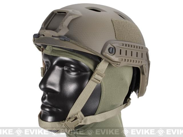 Emerson FAST Type Tactical Airsoft Helmet (BJ Type / Advanced / Navy Seal)