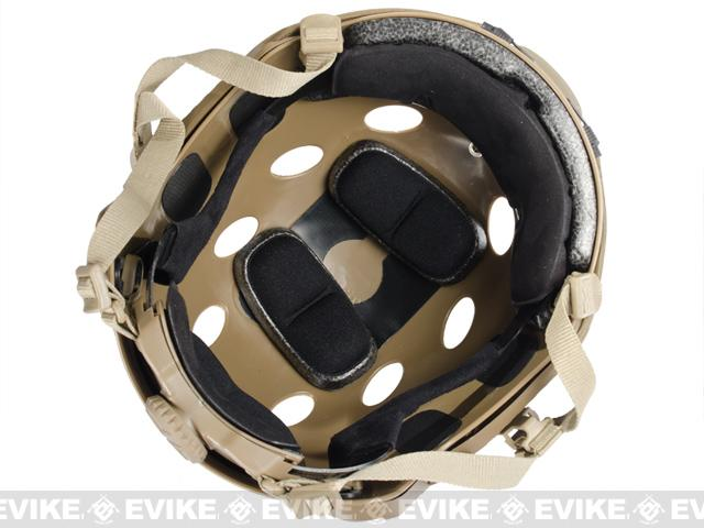 Emerson Bump Type Tactical Airsoft Helmet (MICH Ballistic Type / Advanced / Black)