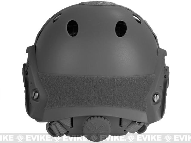 6mmProShop Bump Type Tactical Airsoft Helmet (PJ Type / Advanced / Black)