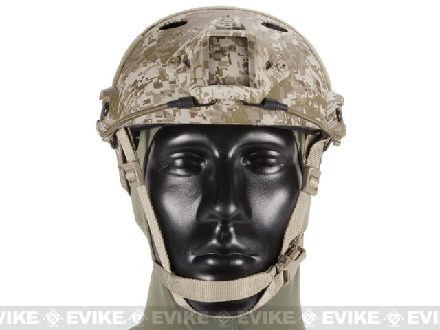 Emerson Bump Type Tactical Airsoft Helmet (PJ Type / Advanced / Digital Desert)